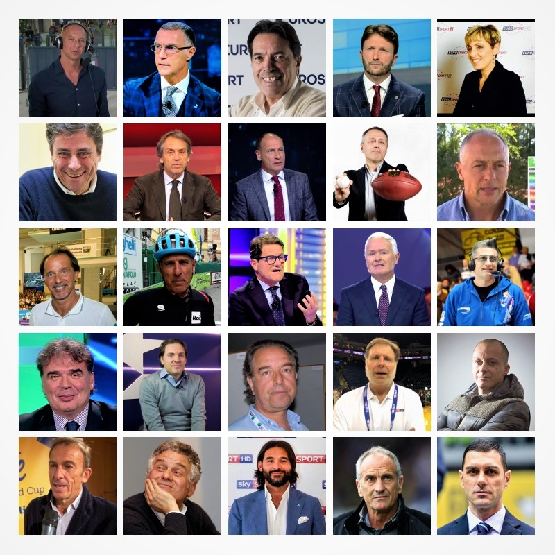 Commentatori sportivi microfono d'oro SPORTinMEDIA.