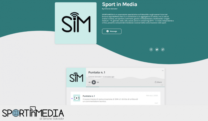 Sport in media podcast 2020