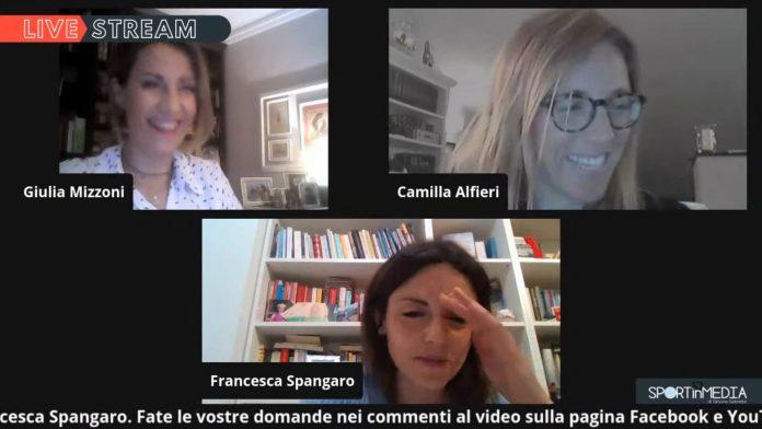 Giulia Mizzoni, Camilla Alfieri, Francesca Spangaro a Live Stream(1)