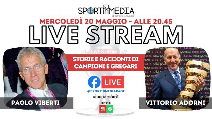 Paolo Viberti e Vittorio Adorni a LIVE|STREAM