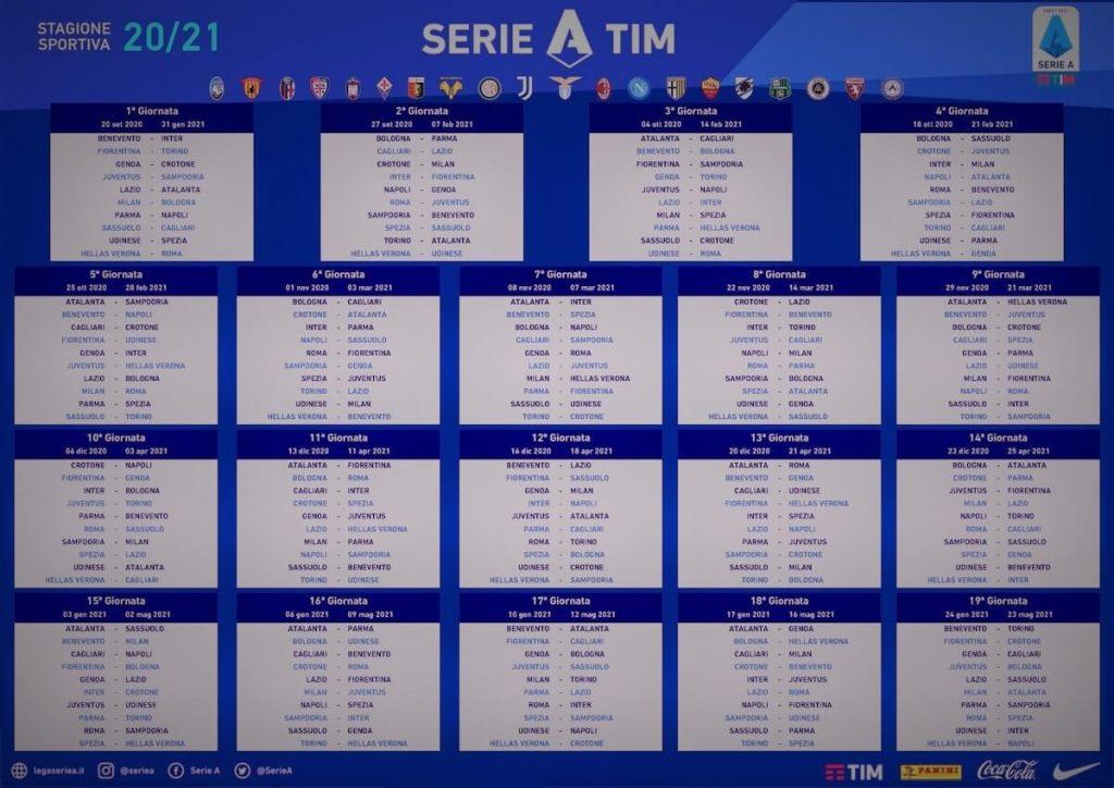 Calendario Serie A 2021 22 Sky Dazn Serie A 2020/2021, anticipi, posticipi e suddivisione Sky Dazn (4