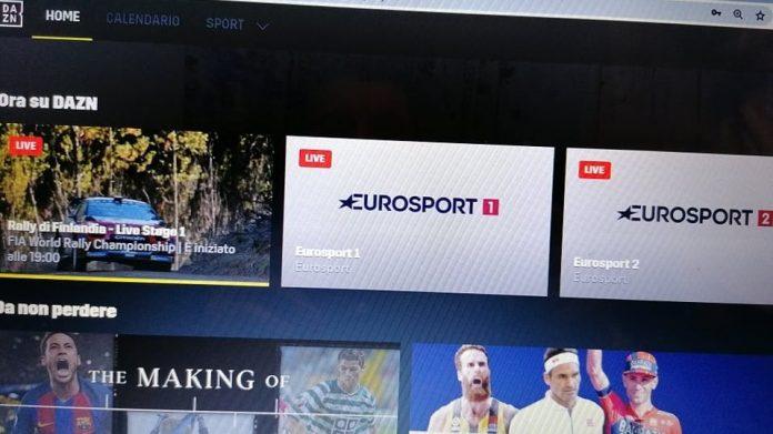 dazn eurosport fino al 2023