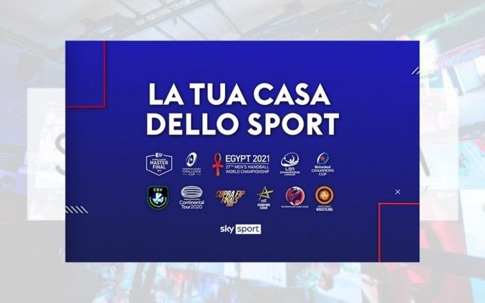 Sky sport volley rugby pallamano pallanuoto atletica