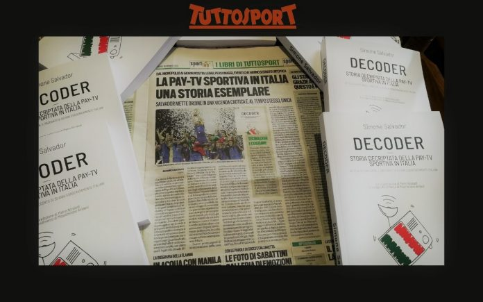 Libro decoder storia pay-Tv recensione Tuttosport