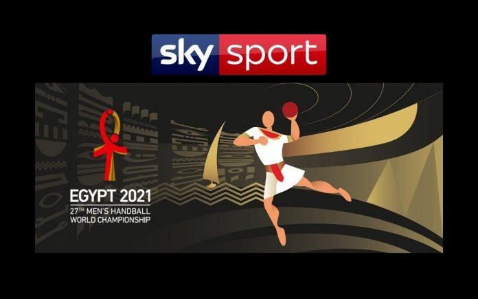 pallamano mondiali 2021 sky sport arena
