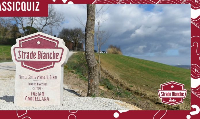 strade bianche 2021 in Tv