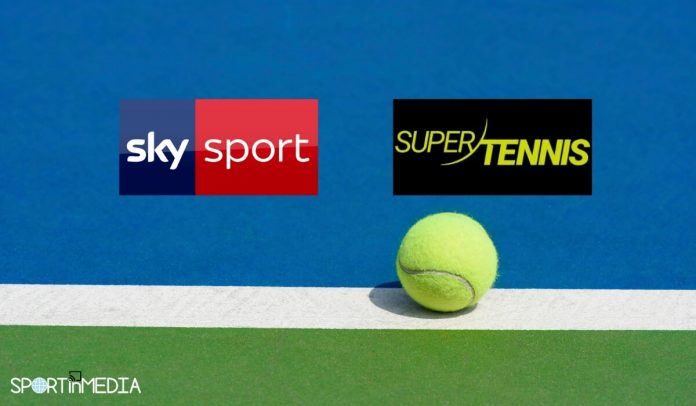 Accordo Sky sport e Supertennis 2021 e 2022 sportinmedia