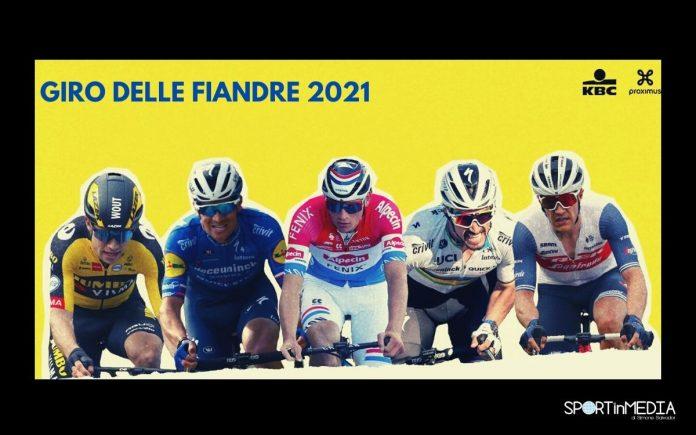 giro fiandre 2021 in Tv su rai sport e eurosport_OK