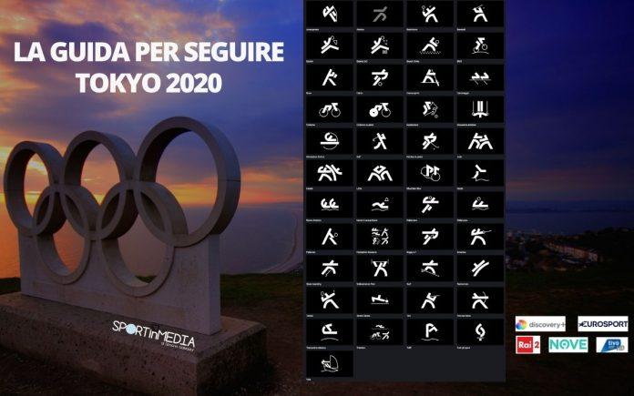 Guida Sport in Media Olimpiadi Tokyo 2020